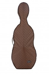BAM HO1000XLM Hoodie for Hightech Cello Case, brown .