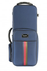 BAM SG3021SB Saint Germain Alto Sax Trekking Koffer, blau .