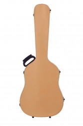 BAM TX8003XLCN Dreadnought Guitar Case, Natural Cow Leather