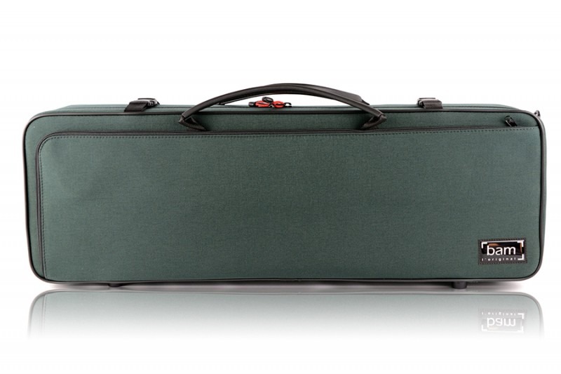 BAM 2002SF Classic violin case, green .