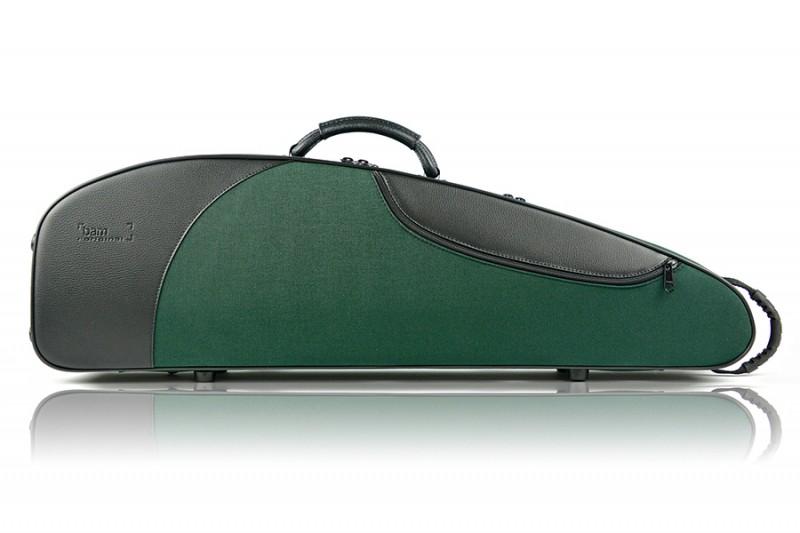 BAM 5003SV Classic 3 Violin case, green .