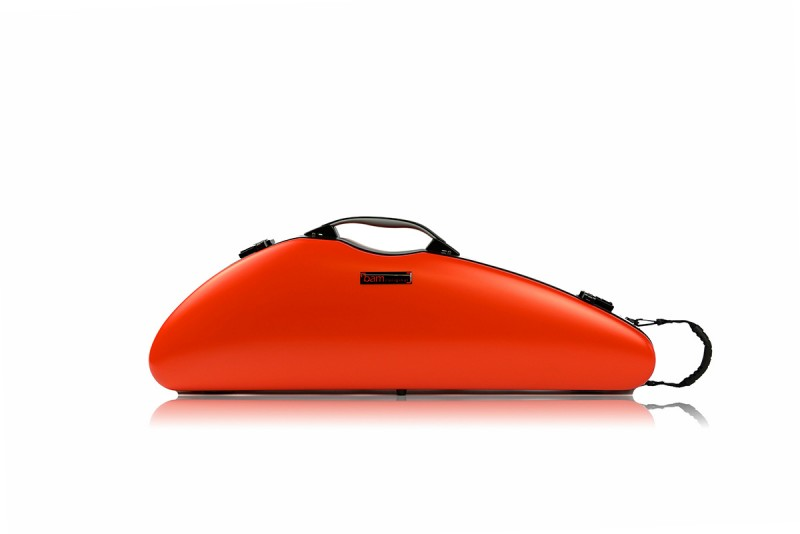 BAM 2000XLORG Hightech Slim Violin case, orangey .