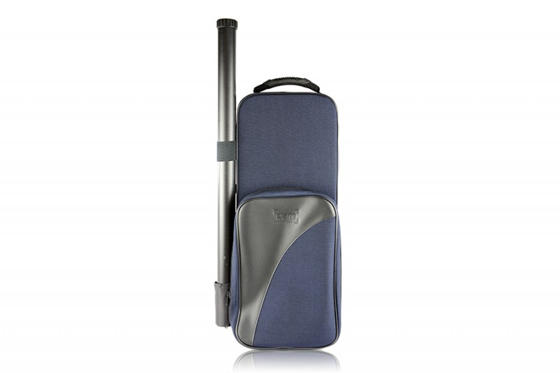 BAM 2001SM Trekking Violin case, navy blue .