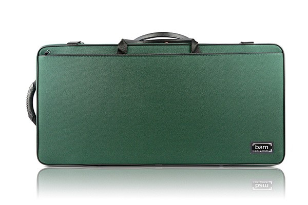 BAM 2006SF DOUBLE CASE f. violin/viola, green .