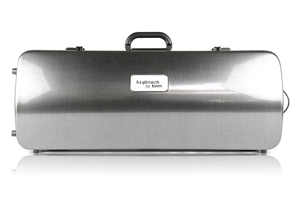 BAM 2202XLT Hightech Oblong Viola case with pocket, tweed .