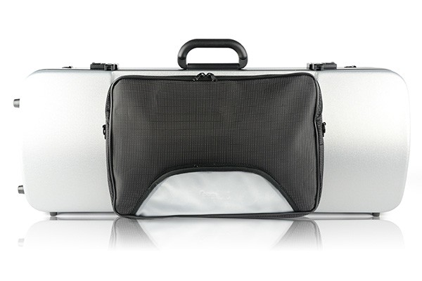 BAM 2202XLS Hightech Oblong Viola case with pocket, silver .