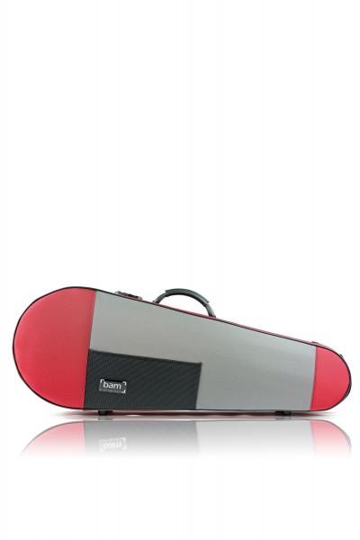 BAM 5101SR Stylus Contoured Viola case (41.5cm), red .