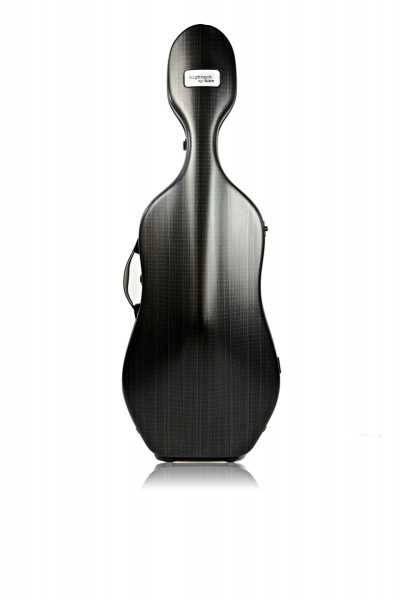 BAM 1004XLLB Hightech Compact 3.5 Cello case, black lazure .