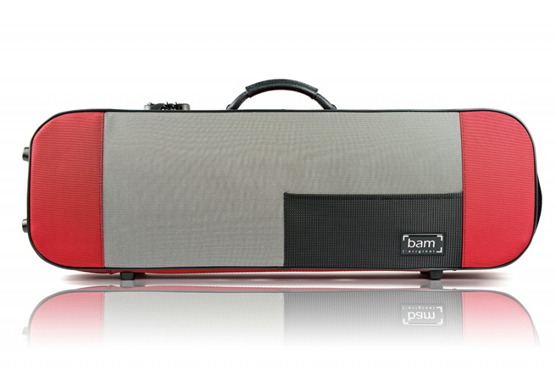 BAM 5001SR Stylus Violin case, red .