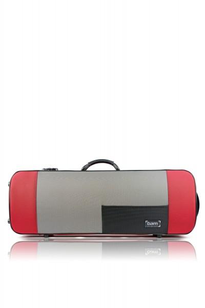 BAM 5141SR Stylus Oblong Viola case (41.5cm), red .