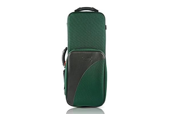 BAM 3021SF Trekking Alto Sax case, green