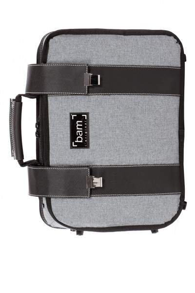 BAM 3028GF Hightech Double Bb/A Clarinets Case, Grey Flannel