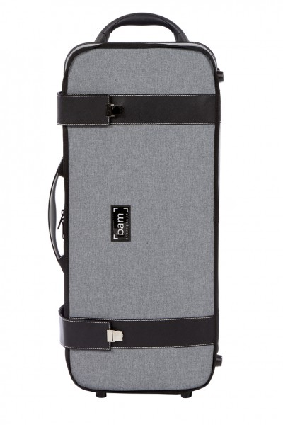 BAM 3133GF Hightech Fagott Bassoon Case, Grey Flannel