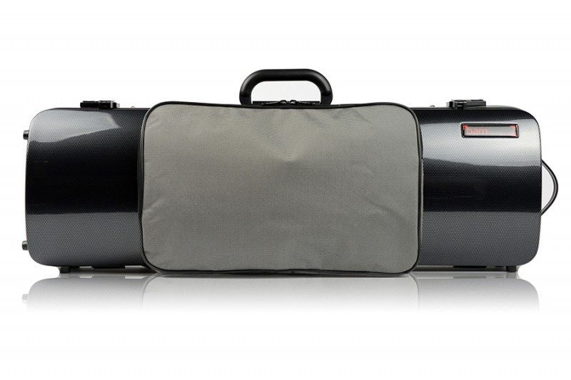 BAM 2011XLC Hightech oblong violin case with pocket, carbon .