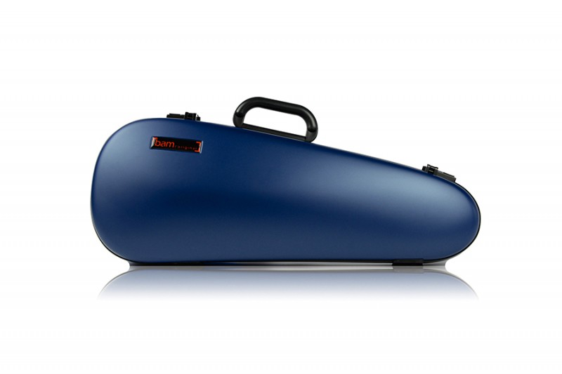 BAM 2003XLB Hightech Overhead Violin case, blue .