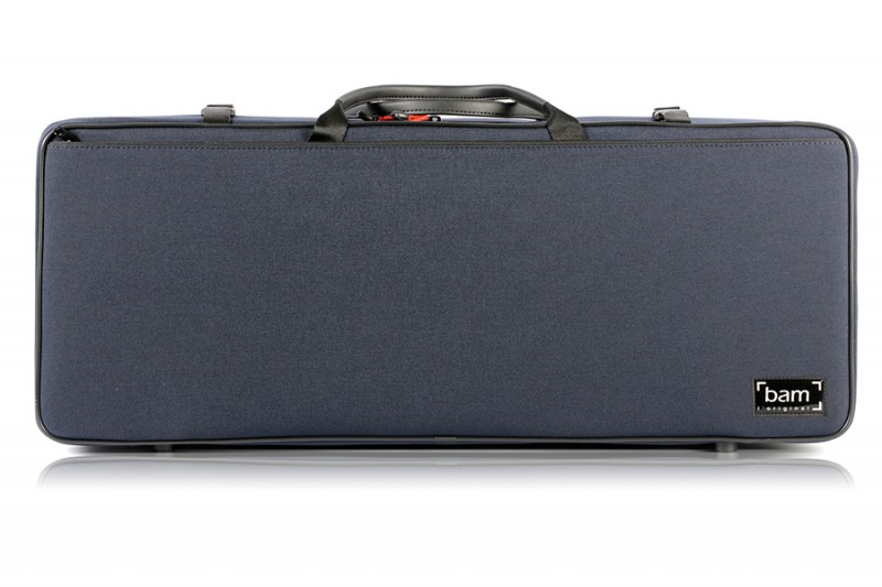 BAM 2005SM Classic DOUBLE CASE f. 2 violins, navy blue .