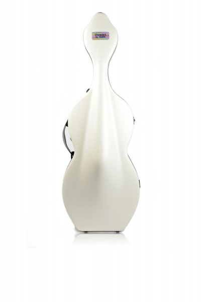 BAM 1003XLWW Hightech Shamrock Cello case with wheels, white