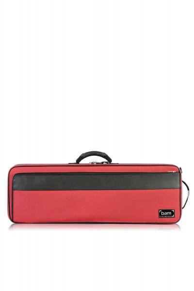 Bam 2043BR Artisto case f. viola (43 cm), red