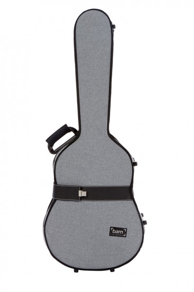 BAM 8002GF Hightech Classical Guitar Case, Grey Flannel