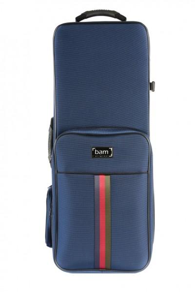 BAM SG3022SB Saint Germain Tenor Sax Trekking Koffer, blue .