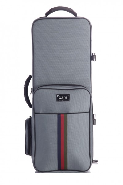 BAM SG3022SG Saint Germain Tenor Sax Trekking Case, grey