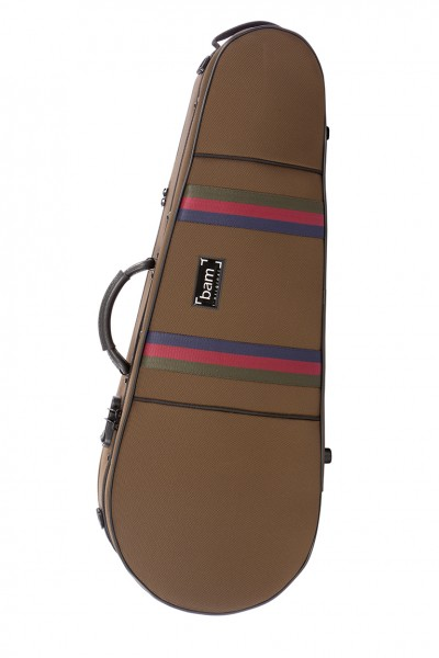 BAM SG5101SC Saint Germain Stylus Contoured Viola case, chocolate