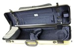 BAM 2011XLA Hightech oblong violin case with pocket, anise