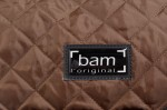BAM HO2201XLM Hoodie für Hightech Oblong Viola case, brown