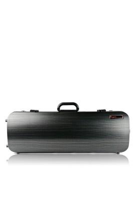 BAM 5201XLLB Hightech Compact Viola-Etui (bis 42cm), schwarz-lazure