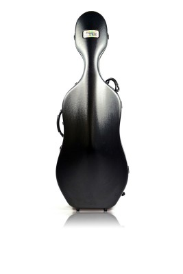 BAM 1001SWN Classic Cello case with wheels, black