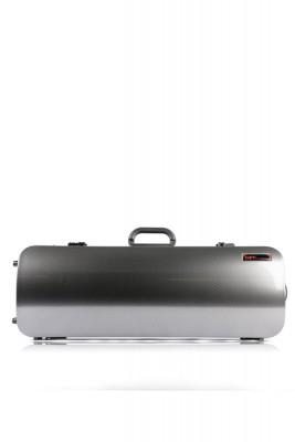 BAM 5201XLSC Hightech Compact Viola-Etui (bis 42cm), silber carbon