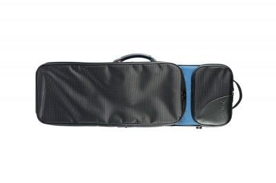 BAM 2003SNB Classic 3/4-1/2 violin case, blue and black .