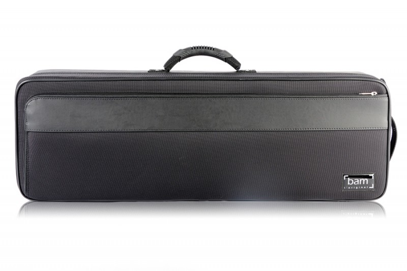 BAM 2002BN Artisto oblong violin case, black .