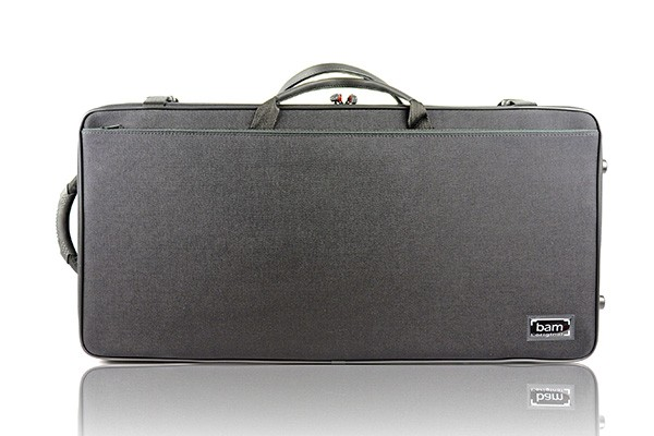 BAM 2006SN DOUBLE CASE f. violin/viola, black .