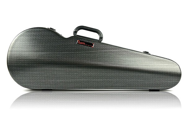 BAM 2200XLLB Hightech Contoured Viola case, black lazure