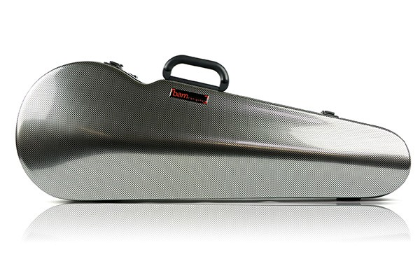 BAM 2200XLSC Hightech Contoured Viola case, silver carbon