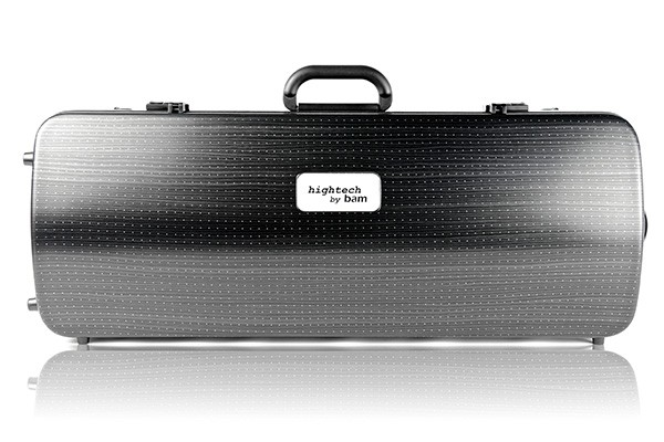 BAM 2201XLLB Hightech Oblong Viola case, black lazure