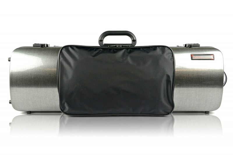 BAM 2011XLT Hightech oblong violin case with pocket, tweed .