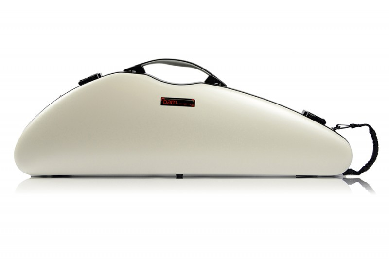 BAM 2000XLW Hightech Slim Violin case, white .