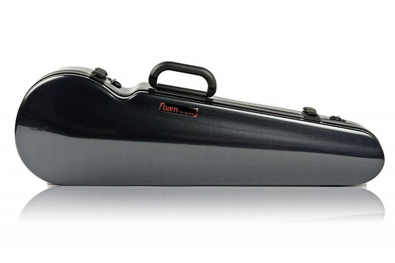 BAM 2002XLC Hightech contoured violin case, carbon .