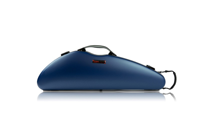 BAM 2000XLB Hightech Slim Violin case, navy blue .