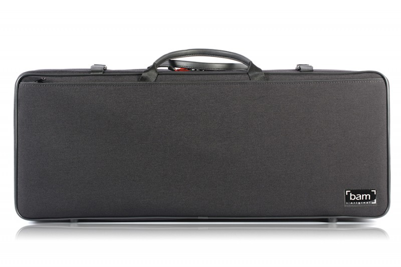 BAM 2005SN Classic DOUBLE CASE f. 2 violins, black