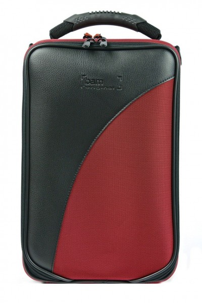 BAM 3027SBDH TREKKING Bb Clarinet Case, Red, German System