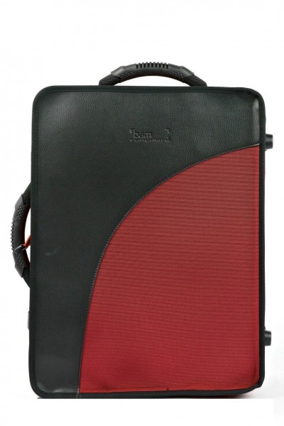 BAM 3028SDH TREKKING Double Bb/A Clarinet Case, Red, German System