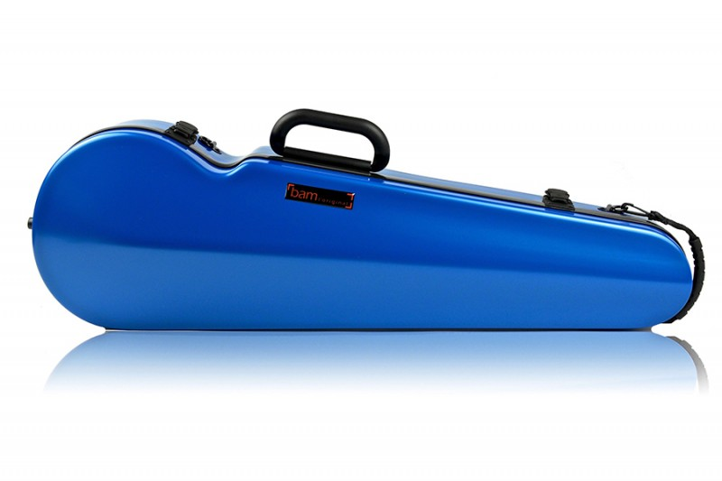 BAM 2002XLB Hightech contoured violin case, azure .