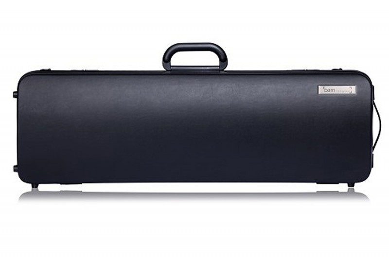 BAM CO2001XLN Hightech Connection oblong violin case, black .