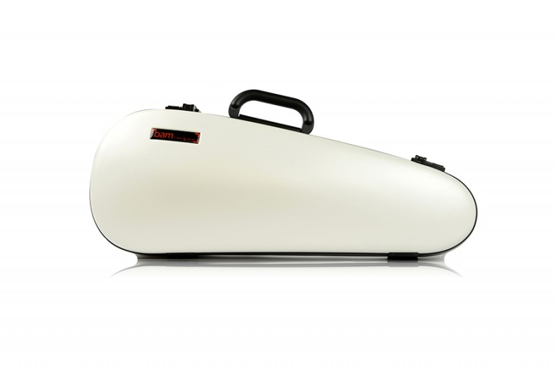 BAM 2003XLW Hightech Overhead Violin case, white .