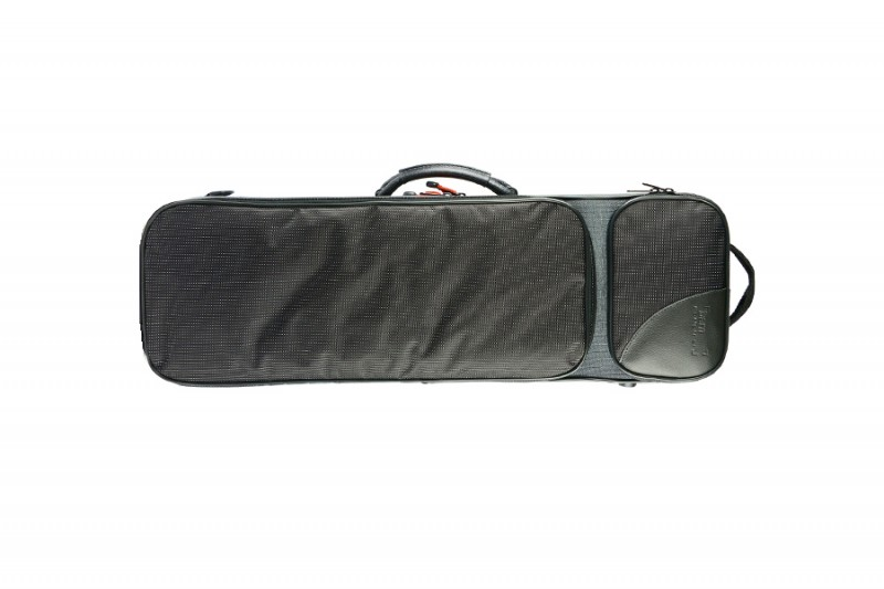 BAM 2003SNG Classic 3/4-1/2 violin case, grey and black .