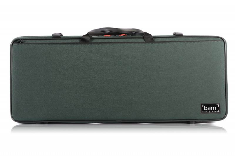 BAM 2005SF Classic DOUBLE CASE f. 2 violins, green