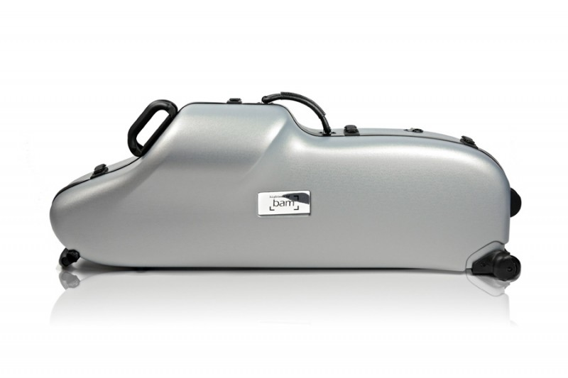 BAM 3101XL Hightech Baritone Sax case, silver